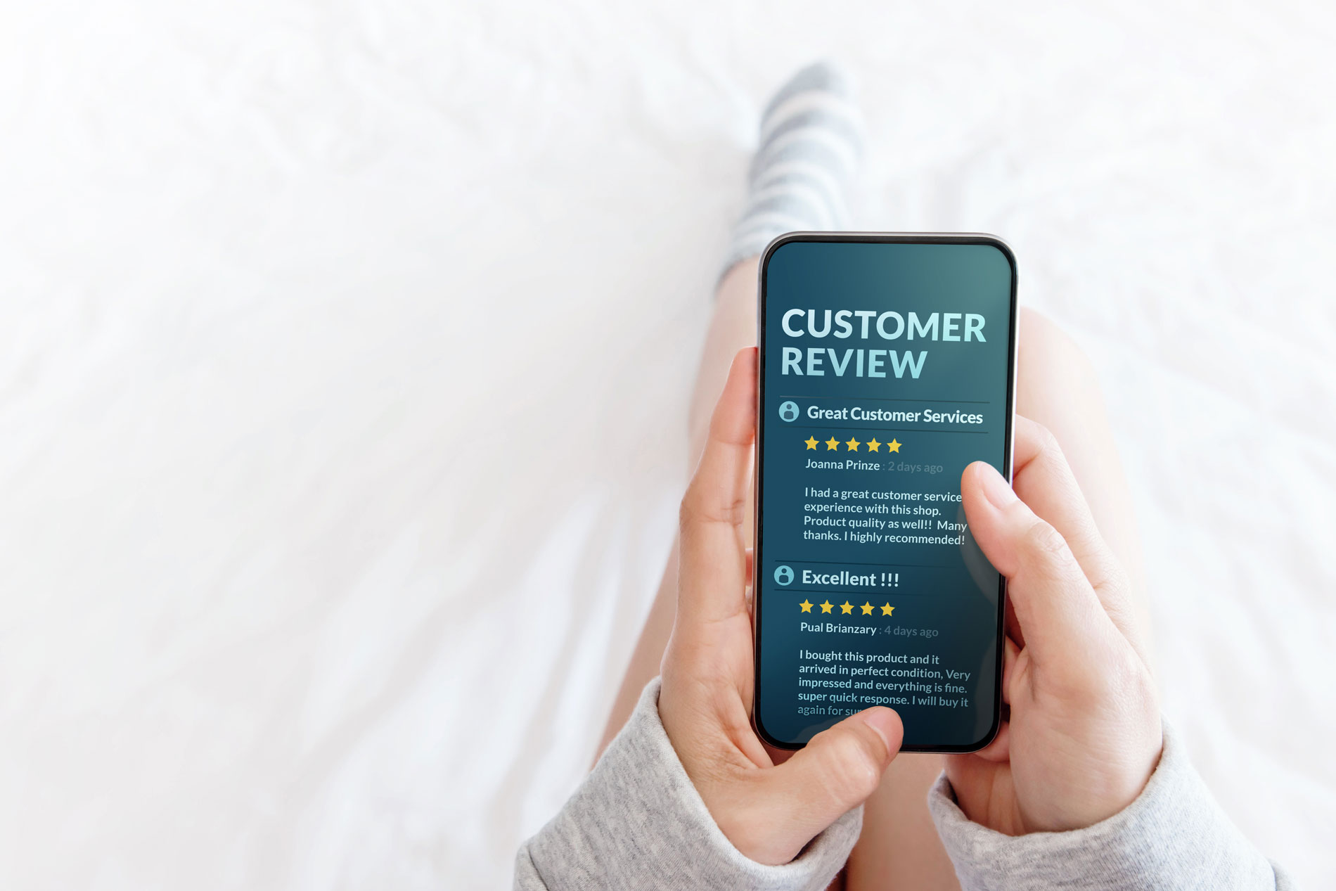 Harnessing The Power Of Positive Reviews