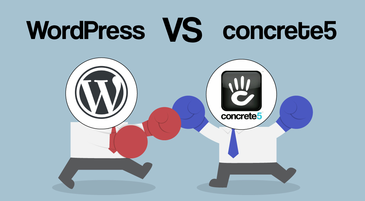 The CMS of Choice: WordPress or Concrete5?
