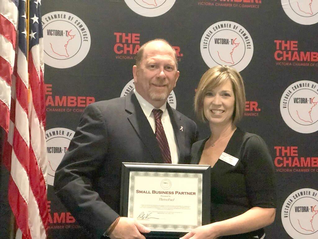 ThriveFuel Awarded Small Business of The Month